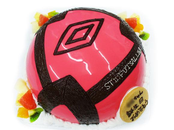 サッカーボール 3Dケーキ