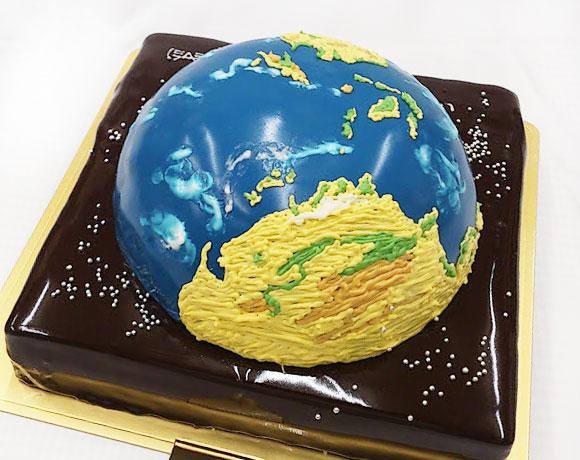 地球のケーキ