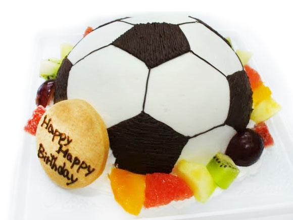 サッカーボール バースデーケーキ