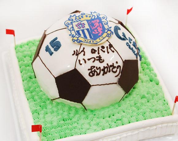 立体ケーキ サッカーボール