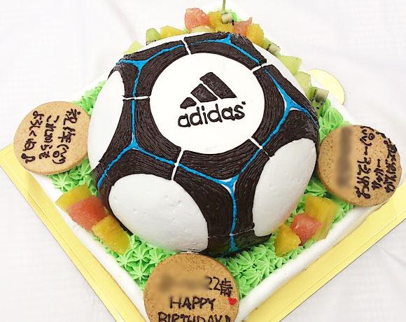 誕生日ケーキ サッカーボール