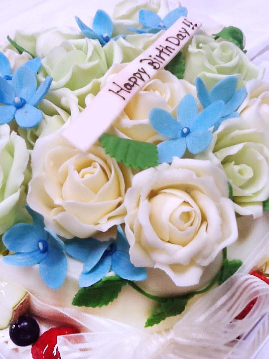 誕生日ケーキ バラ