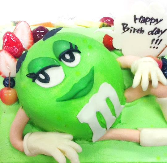 m&m's 3Dケーキ