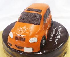 車の誕生日ケーキ PTクルーザー