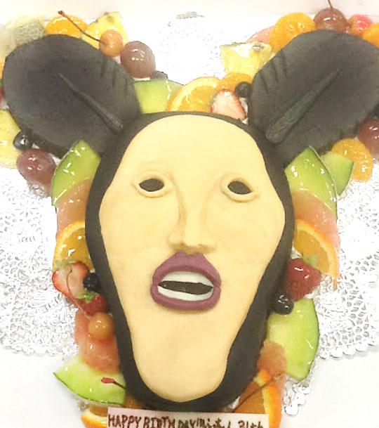 こびとづかん・アラシクロバネ 誕生日ケーキ