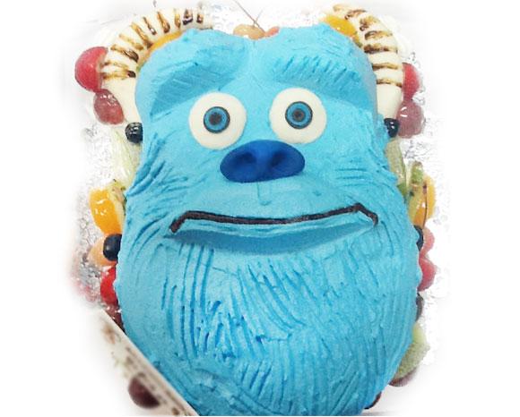 モンスターズインク・サリーの誕生日ケーキ 3D