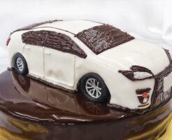 車のケーキ プリウス 誕生日