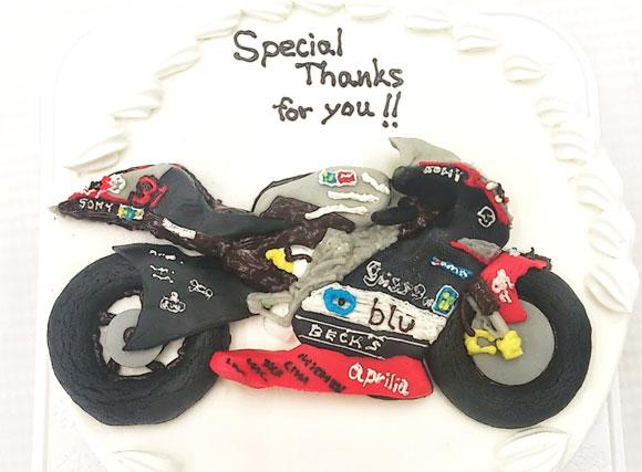 バイク 3Dケーキ