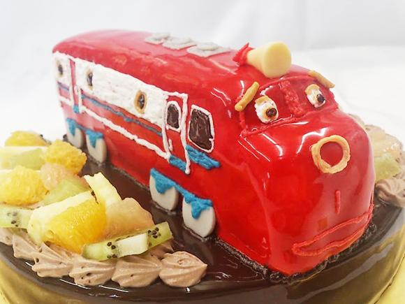 チャギントン3Dケーキ