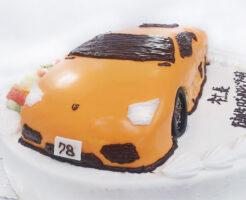 車のケーキ ランボルギーニ アヴェンタドール