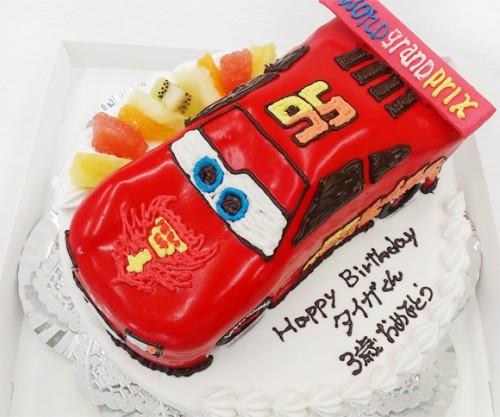 カーズ誕生日ケーキ