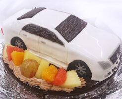 車のケーキ クラウンアスリート
