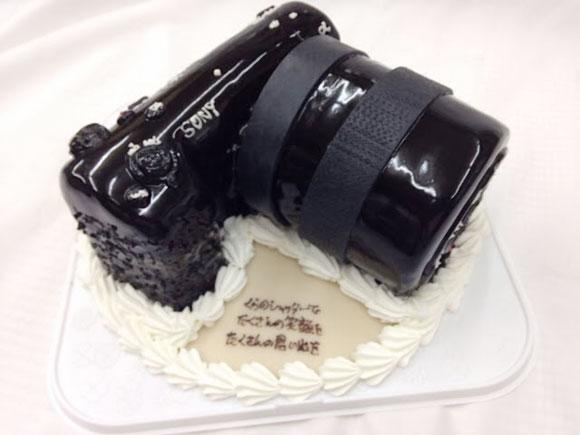 バースデーケーキ カメラ