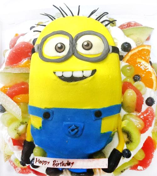 怪盗グル―のミニオン 3Dケーキ
