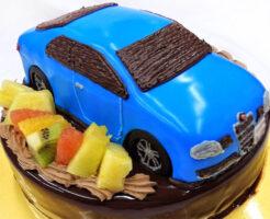 アルファロメオ 車のケーキ
