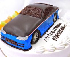 車ケーキ シルビア