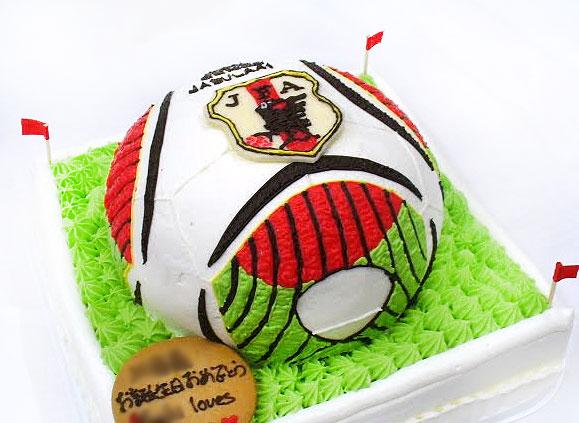 サッカーボール ケーキ