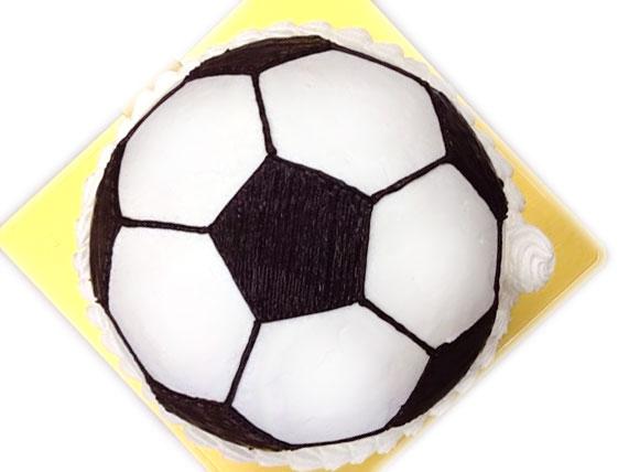 サッカーボール 立体ケーキ