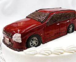 車の誕生日ケーキ ステージア
