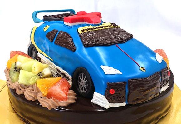 ハイパーブルーポリス ケーキ