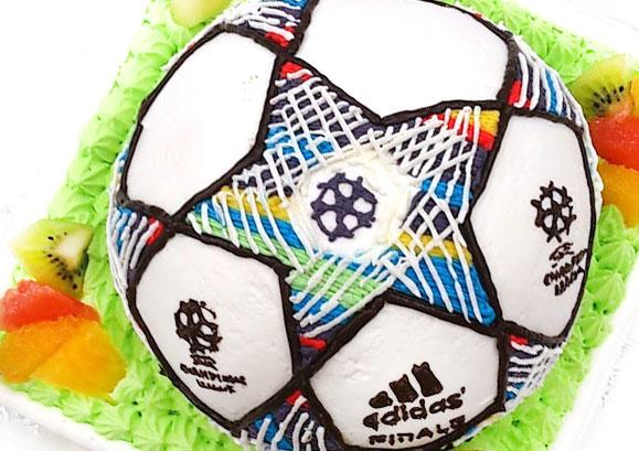 ケーキ サッカー