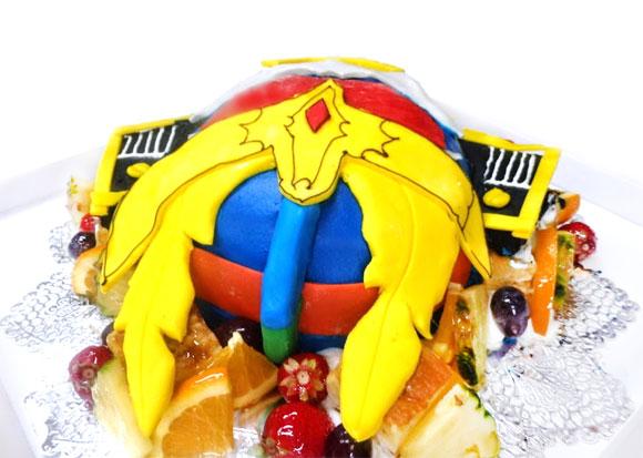 3Dケーキ 仮面ライダー鎧武