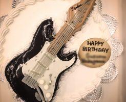 フェンダー ギターのケーキ