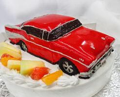 シボレー車の3D超立体ケーキ