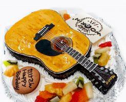 モーリスアコースティックギター3Dケーキ