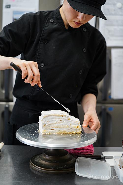 車の3Dケーキ-パティシエール1