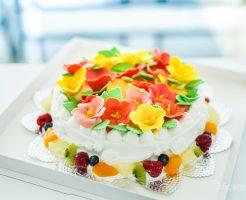ハイビスカスのケーキ 魔法のバースデーケーキ-2