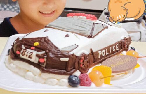 車のケーキ パトカー