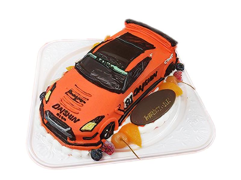 DAISHIN GT3 GT-R レーシングカーの3Dケーキ