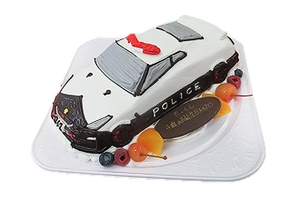GT-Rパトカー3Dケーキー魔法のバースデーケーキ