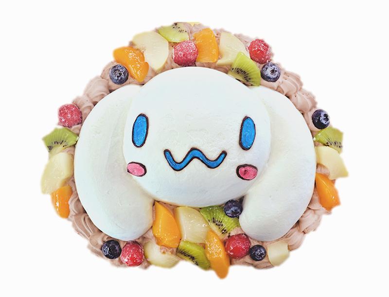 キャラクター立体ケーキ-女の子ケーキ