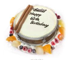 スネアドラム3Dケーキ