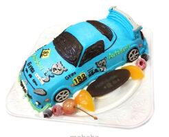 ロードスター3D車のケーキ